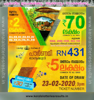 "Keralalotteriesresults.in, ""kerala lottery result 23 2 2020 pournami RN 431"" 23rd February 2020 Result, kerala lottery, kl result, yesterday lottery results, lotteries results, keralalotteries, kerala lottery, keralalotteryresult, kerala lottery result, kerala lottery result live, kerala lottery today, kerala lottery result today, kerala lottery results today, today kerala lottery result,23 2 2020, 23.2.2020, kerala lottery result 23-2-2020, pournami lottery results, kerala lottery result today pournami, pournami lottery result, kerala lottery result pournami today, kerala lottery pournami today result, pournami kerala lottery result, pournami lottery RN 431 results 23-02-2020, pournami lottery RN 431, live pournami lottery RN-431, pournami lottery, 23/2/2020 kerala lottery today result pournami, pournami lottery RN-431 23/02/2020, today pournami lottery result, pournami lottery today result, pournami lottery results today, today kerala lottery result pournami, kerala lottery results today pournami, pournami lottery today, today lottery result pournami, pournami lottery result today, kerala lottery result live, kerala lottery bumper result, kerala lottery result yesterday, kerala lottery result today, kerala online lottery results, kerala lottery draw, kerala lottery results, kerala state lottery today, kerala lottare, kerala lottery result, lottery today, kerala lottery today draw result"