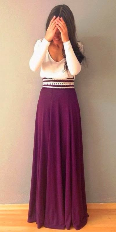 mode rok panjang