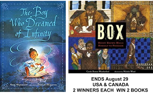 The Boy Who Dreamed of Infinity & Box:Henry Brown Mailes Himself to Freedom