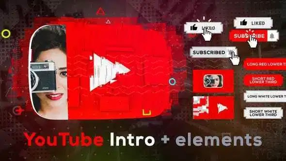 Videohive Stomp YouTube Intro 20928325