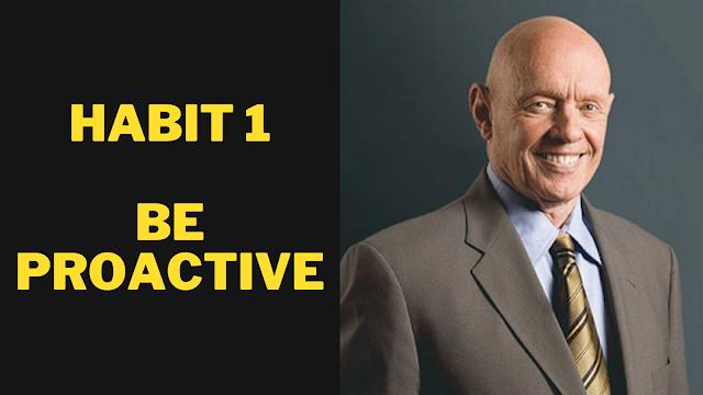 Habit 1: Be Proactive Stephen R. Covey