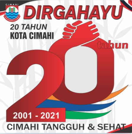 Twibbon HUT Kota Cimahi 2021 yang ke 20