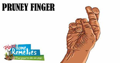 10 interesting Things Your Body performs in Self-Defense: Pruney Finger
