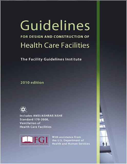 Books, HVAC, Medical Gases, PDF,  FGI Guidelines for Design and Construction of Health Care Facilities 2010 edition
