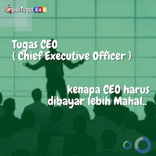Tugas CEO (Chief Executive Officer)