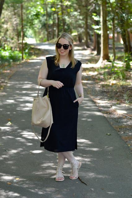 cute-black-midi-dress