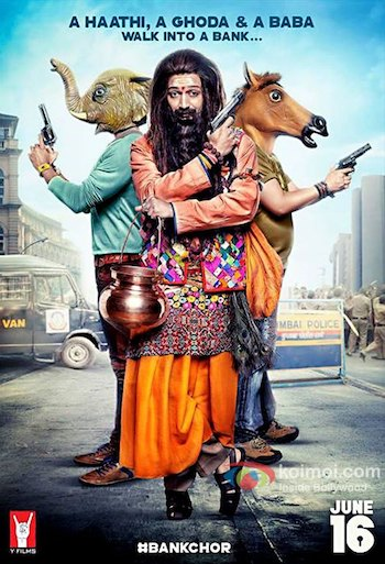 Bank Chor 2017 DVDScr x264 Hindi 700MB