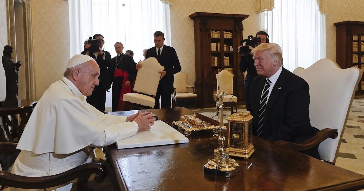 Vatikan: Trump gekränkt, weil er nur von Gottes Stellvertreter empfangen wurde