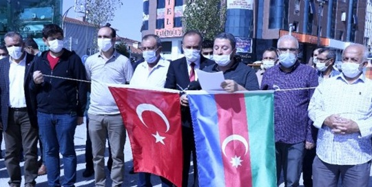 NGOs Came Together in Kırsehir to Support Azerbaijan