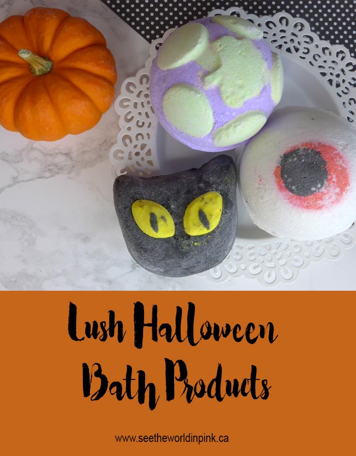 lush halloween goodies