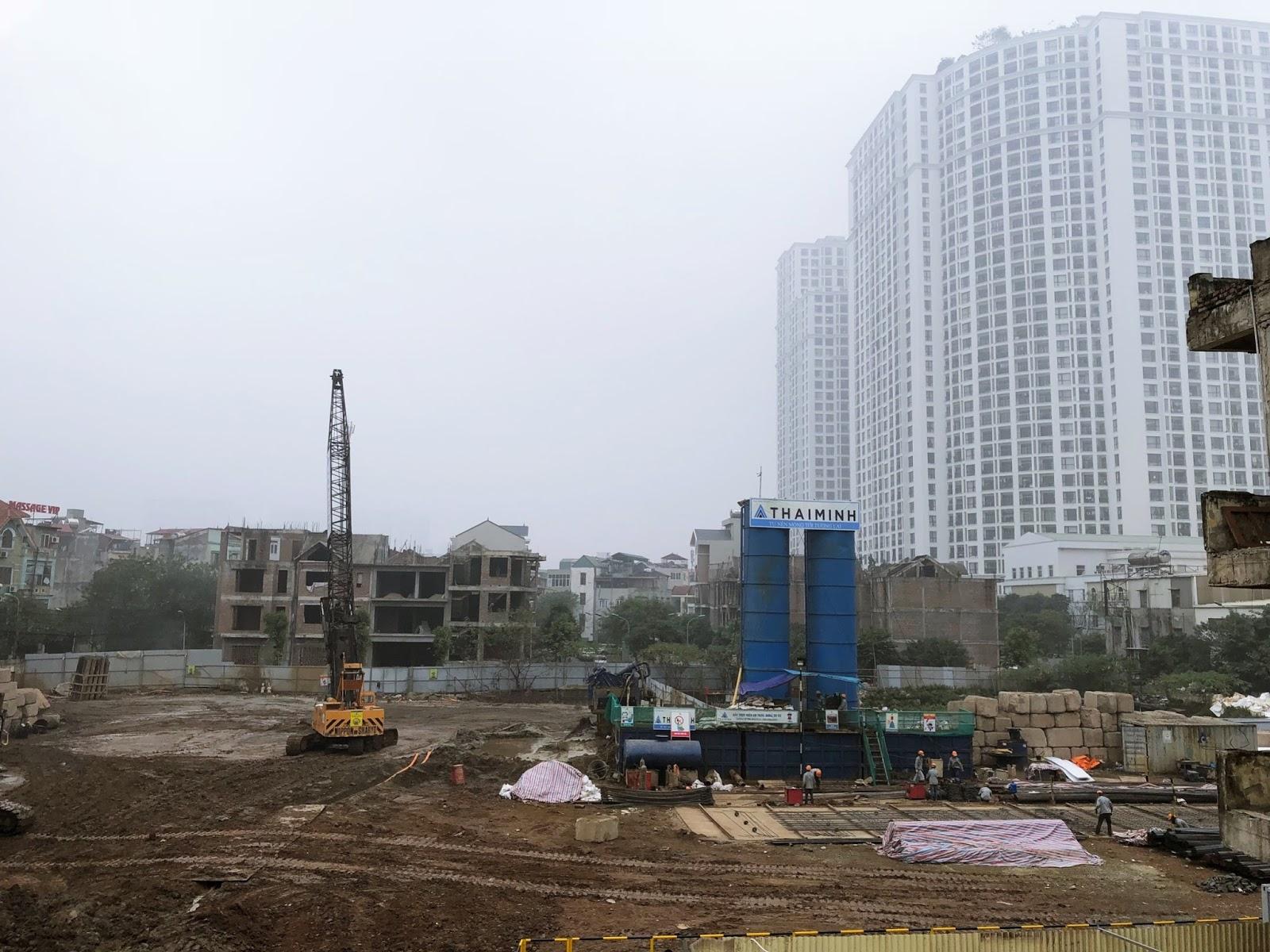 Cập nhật tiến độ xây dựng dự án King Palace Nguyễn Trãi