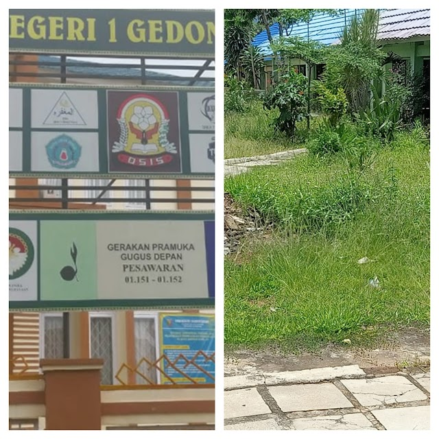 LSM GPK, Desak Dinas Pendidikan Dan Kebudayaan Provinsi Lampung Ganti Kepala SMA N 1 Gedong Tataan