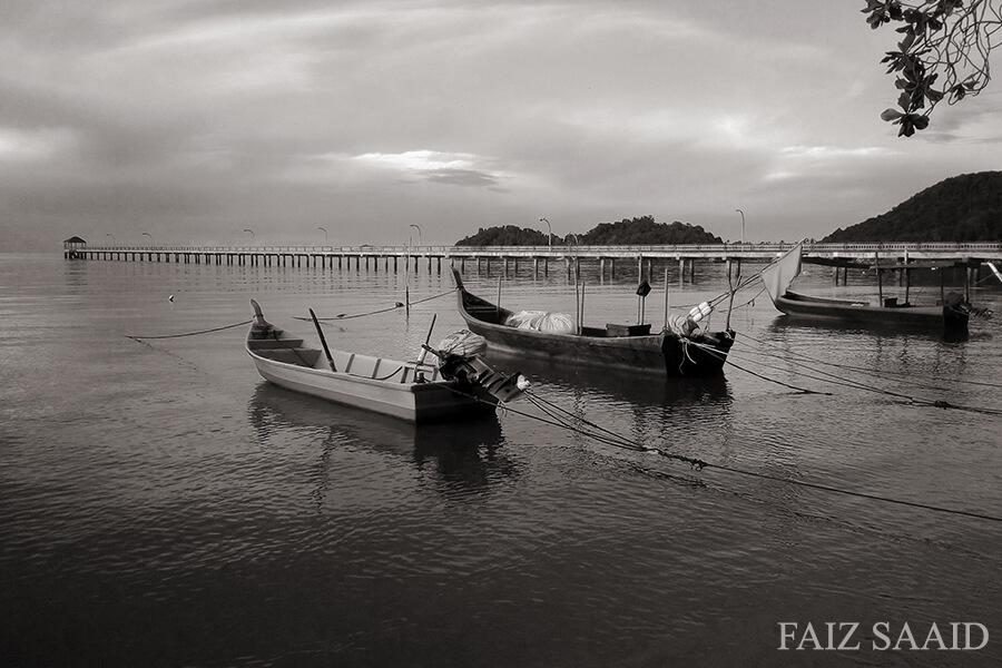 kampung nelayan teluk kumbar