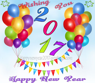 Happy new Year 2017 Wishing Cards Greetings
