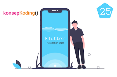 #25 Tutorial Flutter Megirim Data Navigasi