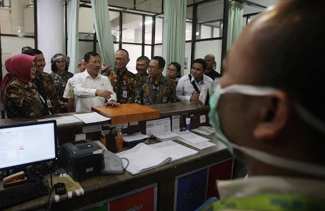 cek kesiapan jelang libur akhir tahun, Menkes tinjau RS Hasan Sadikin Bandung