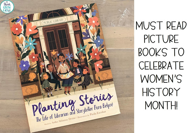 read alouds for womens history month
