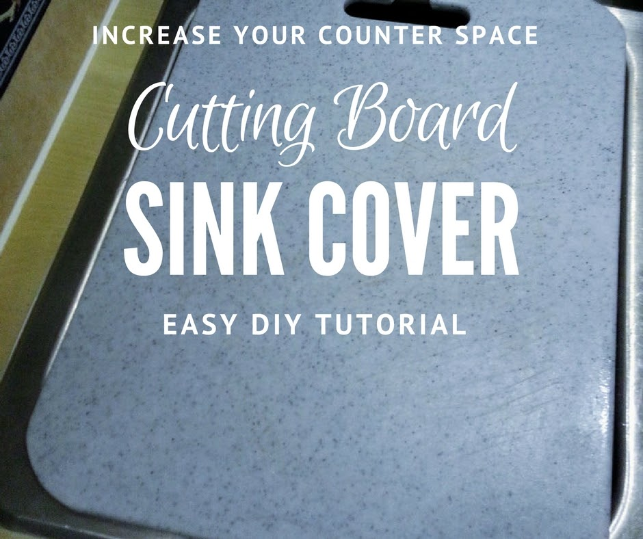 Wacky Pup How To Make Your Own Sink Cover For More Counter Space
