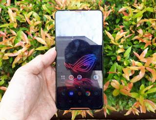 ASUS ROG Phone Z01QD 8/128 Gamers Phone Mulus