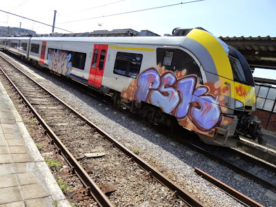 #traingraffiti #graffititrain