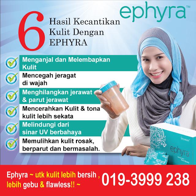 Hasil Kecantikan Kulit dengan Ephyra