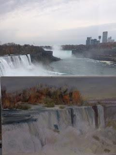 painting Niagara Falls, American Falls