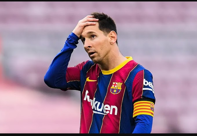Barcelona say Argentina forward Lionel Messi will not stay at club