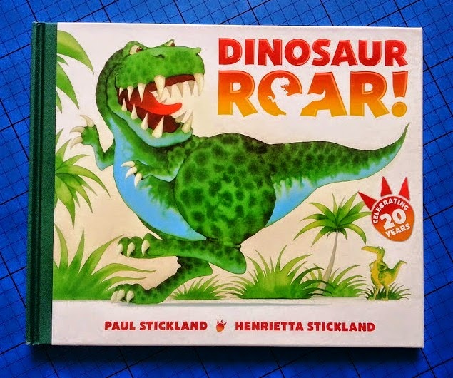 Dinosaur Roar 20th anniversary edition cover