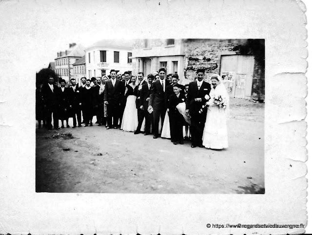 Photo de mariage d'Auvergne, à identifier.