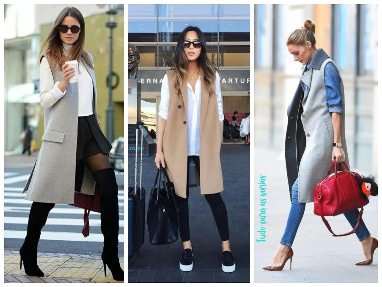 Tendência: Coletes; coletes; moda; tendência