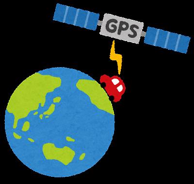 GPSのイラスト