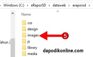 Klik folder images
