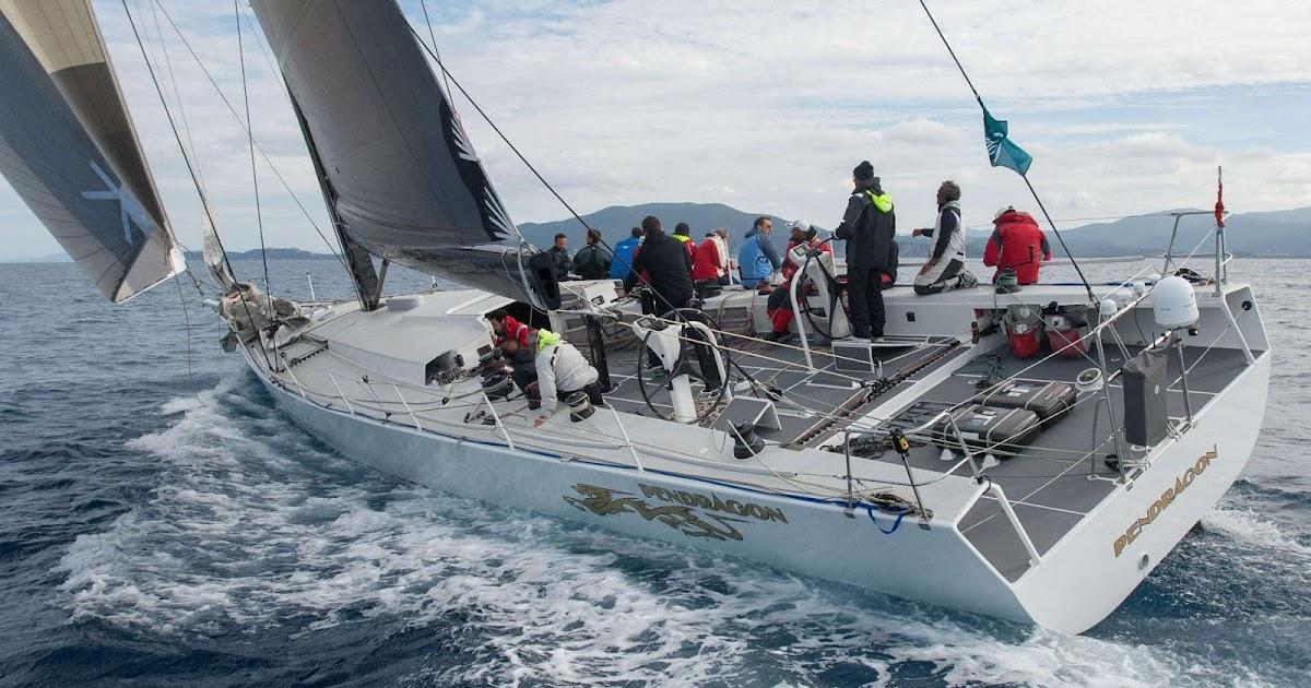 Il maxi pendragon con safe marine alla 48^ barcolana