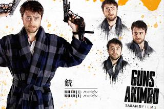 Guns Akimbo promotional one sheets