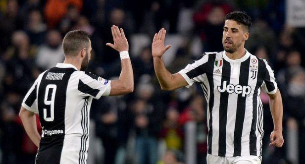 Juventus Putus Kontrak Gonzalo Higuain dan Sami Khedira