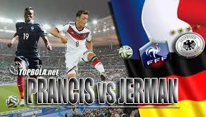 EURO 2016 : Hasil Jerman VS Prancis Skor Akhir 0-2 FT