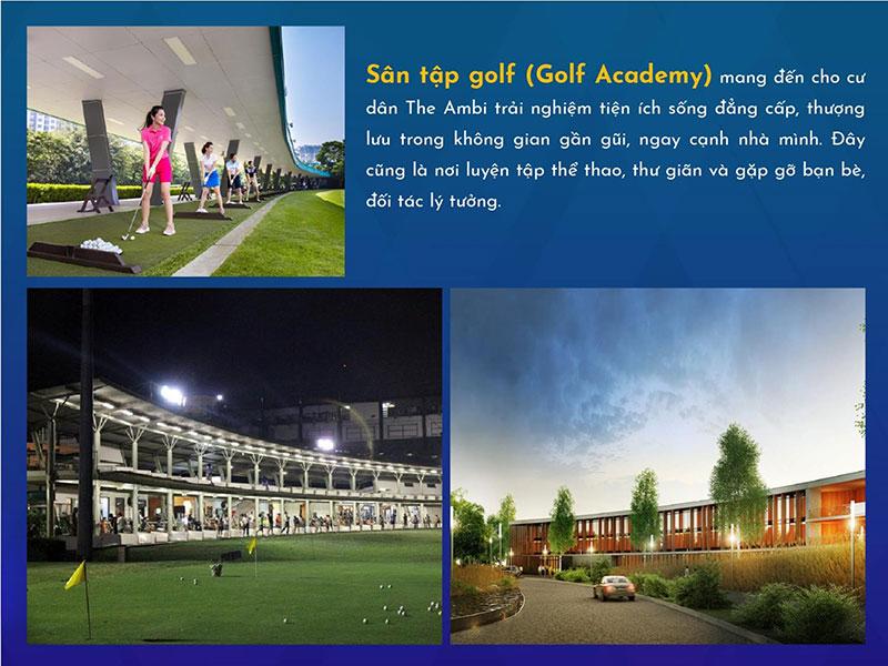 Sân tập Golf 25.000 m2