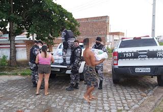 Campanha Somos Solidariedade distribui mais 116 cestas básicas em Guarabira