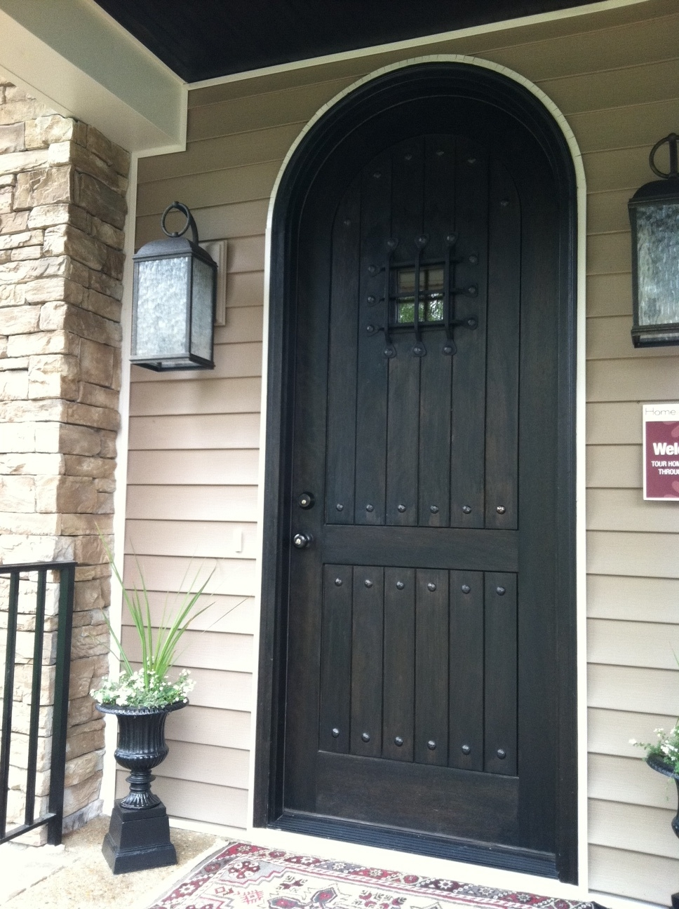 Her late night cravings richmond homearama trends - Doors for arched doorways ...