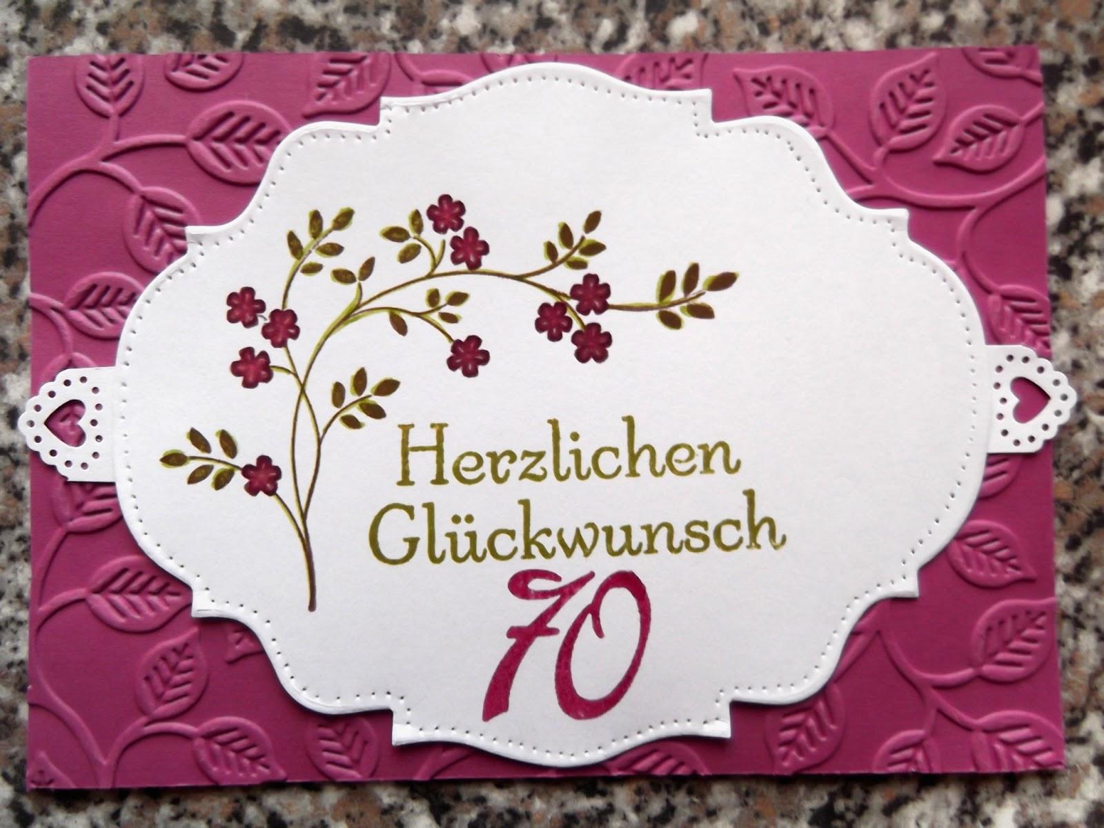 Gluckwunsche Zum 70 Geburtstag