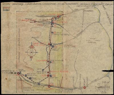 Lokasi Bersejarah Peta rel kereta api Pekanbaru Death Railway