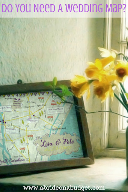 Do you need a wedding map? Get some good advice and answers in this post from www.abrideonabudget.com.