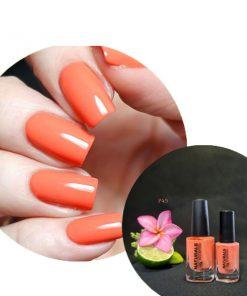 Sơn móng màu cam đào 15ml