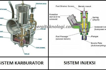Kelebihan dan Kekurangan dari Sistem Karburator dan Injeksi (EFI) yang Perlu Diketahui