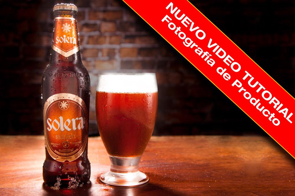 Tutorial de fotografía de producto de Botella de Cerveza