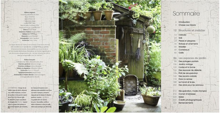 d co fait main livre jardin vintage un art de vivre. Black Bedroom Furniture Sets. Home Design Ideas