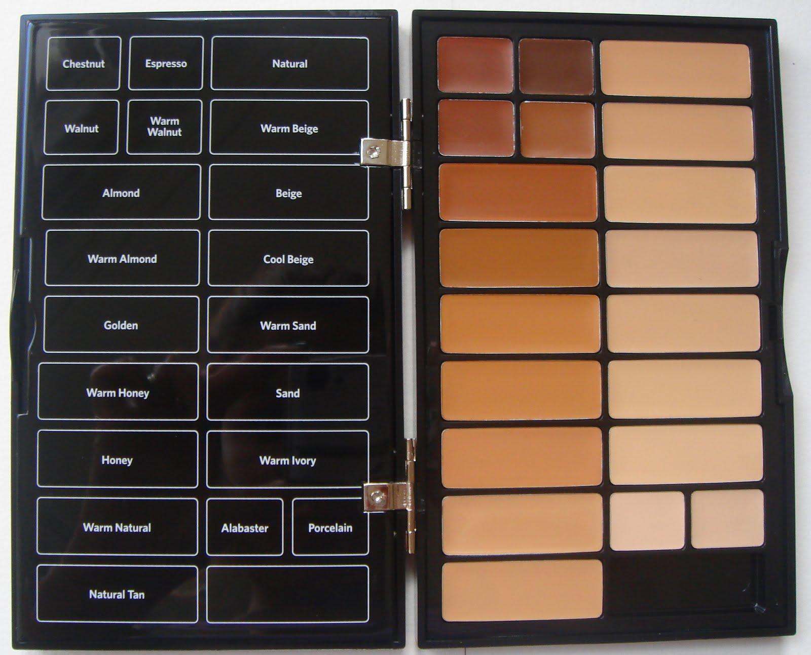 bobby brown concealer palette