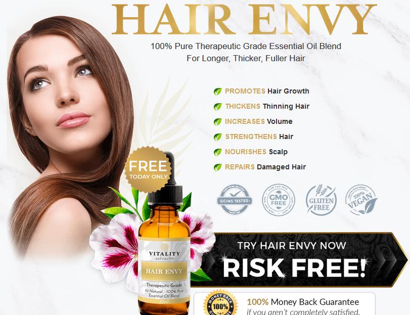 Hair Envy - Essential Oils