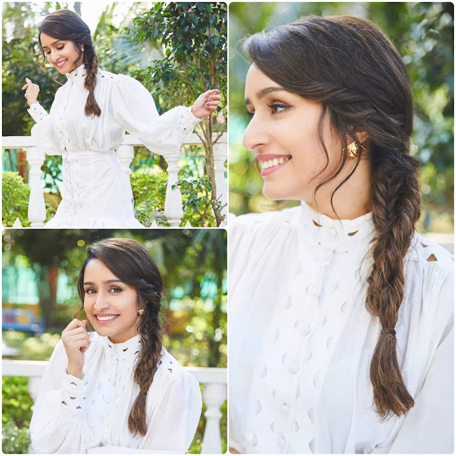 Shraddha Kapoor Fishtail Braid