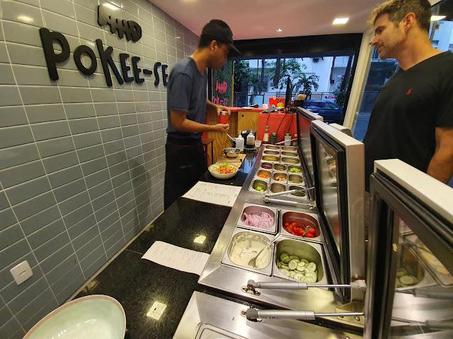 Blog Apaixonados por Viagens - Pokee-se - Ipanema - Onde comer no Rio